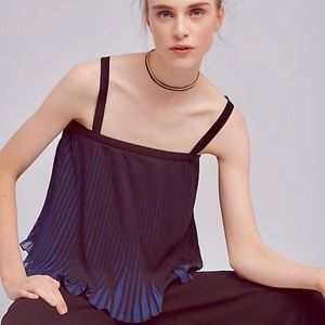 Anthropologie HD in Paris Pleated Banquet Cami